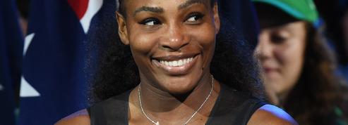 Serena Williams attend son premier enfant