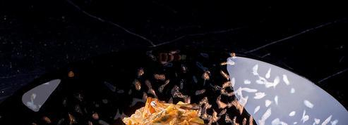 Tagliolinis à l'aneth et fruits de mer