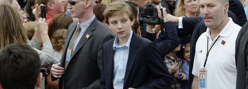 Barron Trump n'ira pas dans l'école des enfants de présidents