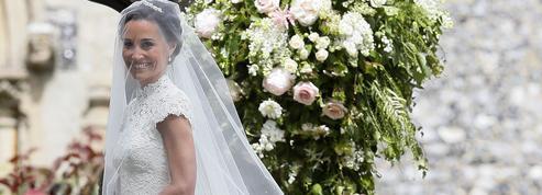 Pippa Middleton choisit une robe de mariée Giles Deacon