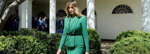 Melania Trump s'est installée à la Maison-Blanche