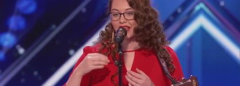 Une jeune femme sourde bouleverse l'audience du show