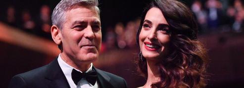Les jumeaux Clooney, 1 mois, ont fait leur premier vol en jet privé