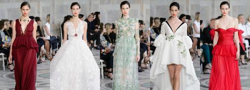 Les robes couture de Giambattista Valli, une ode fleurie aux héroïnes