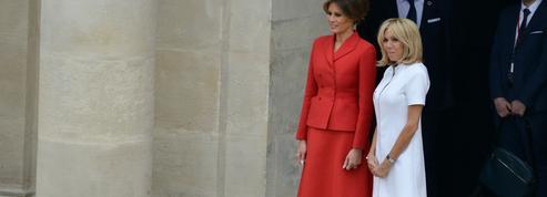 Brigitte Macron et Melania Trump : le match mode des premières dames