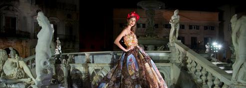 Pour sa collection Alta Moda, Dolce&Gabbana voit les choses en grand à Palerme