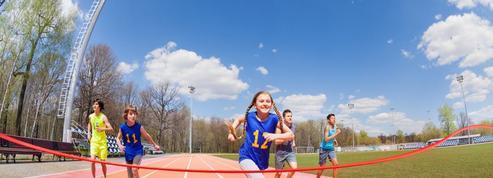 La course, témoin de la santé des enfants