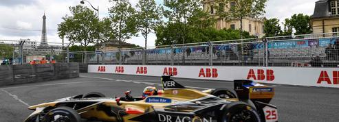 Jean-Eric Vergne triomphe dans les rues de Paris