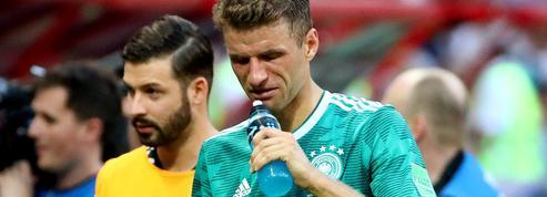 Pour la première fois de son histoire, l'Allemagne passe à la trappe dès le 1er tour