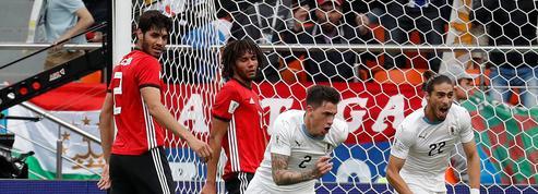 Coupe du monde 2018 : L'Uruguay fait plier l'Egypte à la 90e minute