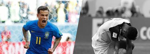 Tops/Flops Brésil-Costa Rica : Coutinho délivre le Brésil, le Costa Rica éliminé