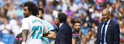 Accroché, Benzema blessé, Marcelo expulsé: samedi noir pour le Real