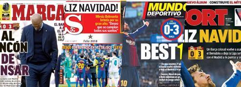 Revue de presse : Zidane au banc des accusés après le Clasico
