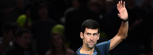 Djokovic, le cador de Paris
