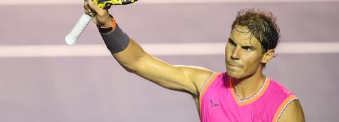 De retour à Acapulco, Nadal ne se rate pas