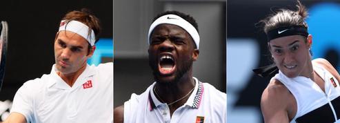 Federer, Tiafoe, Garcia : ce qu'il faut retenir de la nuit à Melbourne