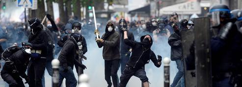 Loi travail : heurts violents à Paris, 40 blessés et 58 interpellations