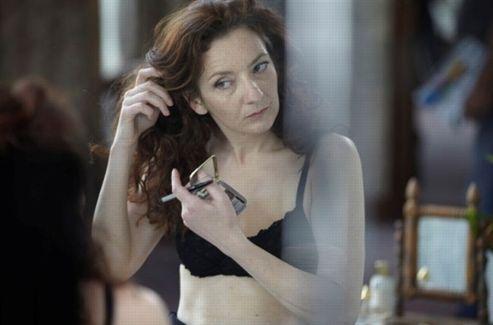 Corinne Masiero dans Louise Wimmer. Crédits photo: Haut et Court