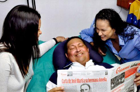 Les premières images de Chavez depuis décembre.