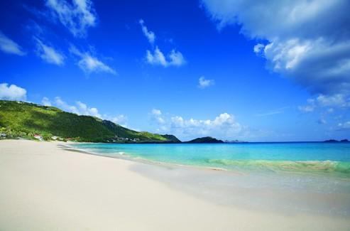 À Saint-Barth, les vacanciers jouissent de 32 km de côtes.