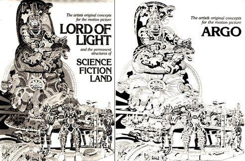 Le projet original était basé sur l'adaptation d'un best-seller de Roger Zelazny <i>Seigneur de lumière </i><i>(</i><i>Lord of Light</i><i>).</i>