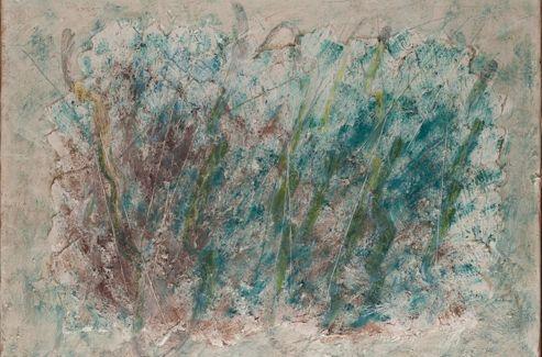 Jean Fautrier - <i>Végétaux</i> signé et daté. 200,000 - 300,000&#8364;.