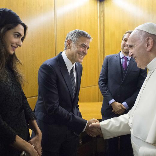 Rencontrer le pape