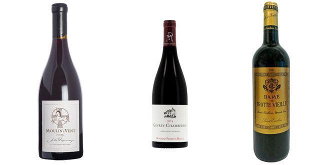 3 vins rouges à plus de 30€