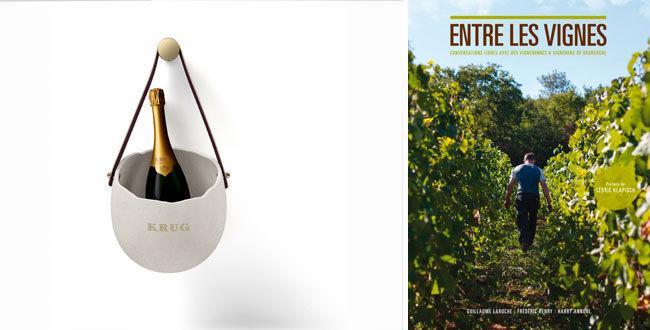 Champagne ou livre sur le vin ?