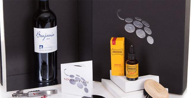 Un coffret pour hipster autour du vin
