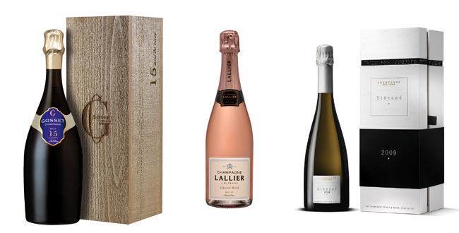 3 champagnes à 30€ et plus