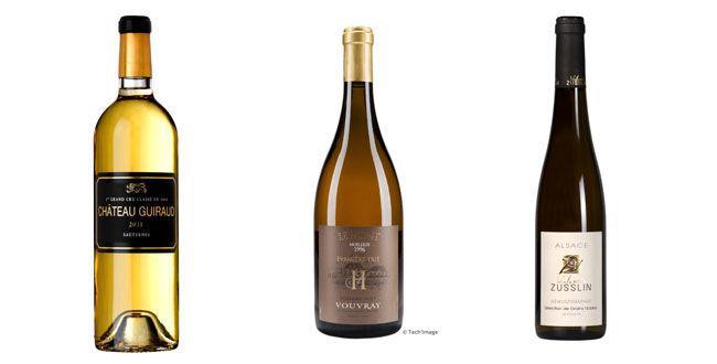 3 vins sucrés à plus de 30 €