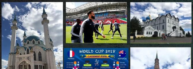 Carte postale de Kazan, la capitale atypique et ambitieuse du sport russe