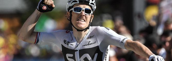 Tour de France : Geraint Thomas vainqueur à la Rozière et en jaune
