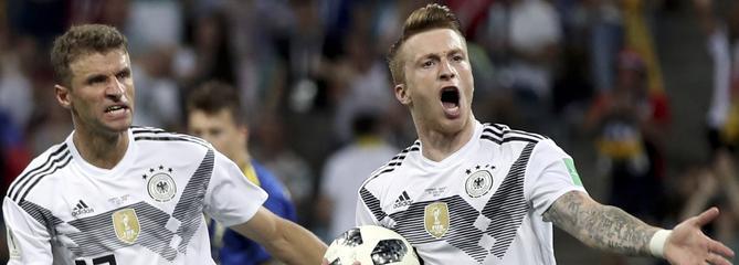 Coupe du monde 2018 : L'Allemagne arrache son succès face à la Suède et reste en vie