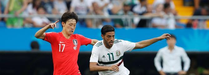 Corée du Sud-Mexique en direct : Les Mexicains toujours dominateurs