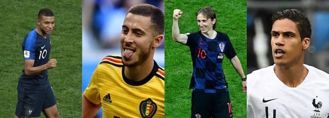 Coupe du monde 2018 : l'équipe-type du Mondial