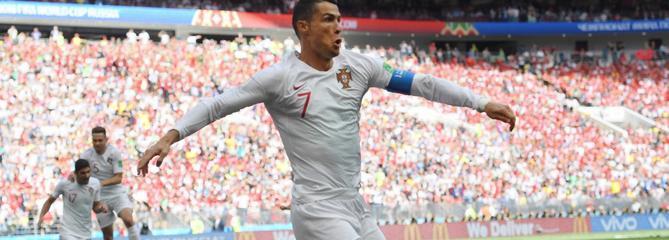 Coupe du monde 2018 en direct : après le but de Ronaldo, le Portugal résiste face au Maroc