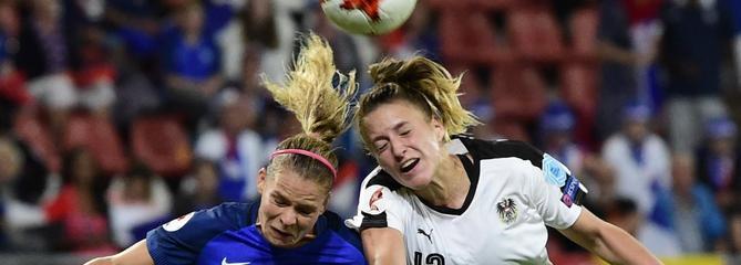 Euro 2017 : Accrochées par l'Autriche, les Bleues se compliquent la vie