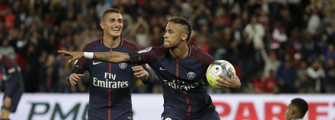 Neymar et le PSG assurent le spectacle en écrasant Toulouse