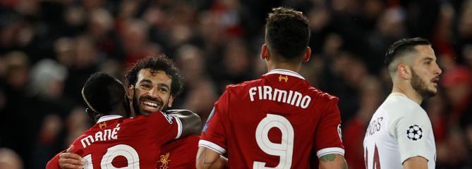 Porté par Salah, Liverpool file vers la finale de la Ligue des champions