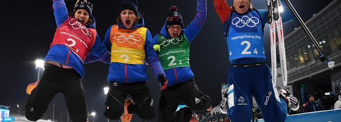 JO 2018: Les biathlètes françaises en bronze, la France égale son record de Sotchi