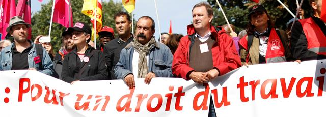 Loi travail: la CGT appelle les autres syndicats à se joindre au mouvement