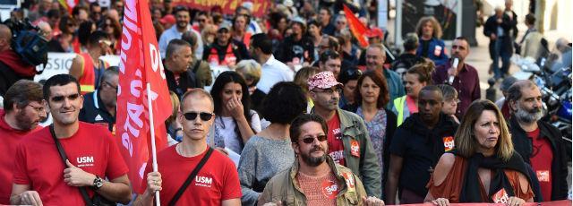 Loi travail: des milliers de personnes manifestent en province