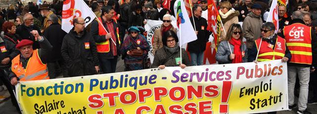Grève des fonctionnaires: écoles, crèches et transports perturbés