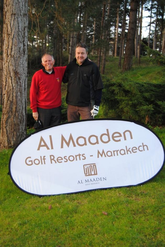 Alan Field et Gudmundur Stefansson