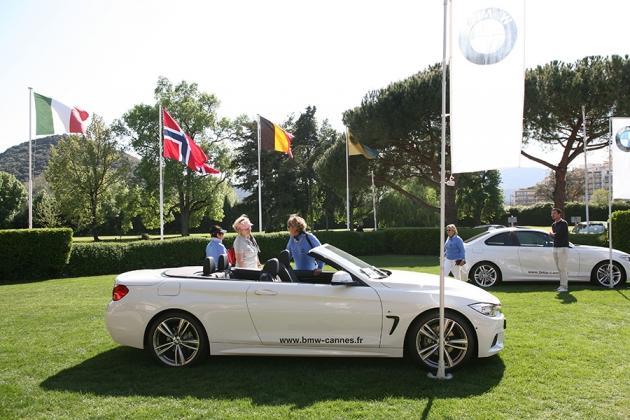 : A découvrir aussi lors de cette belle journée, les derniers modèles BMW (Karin Dilthey).