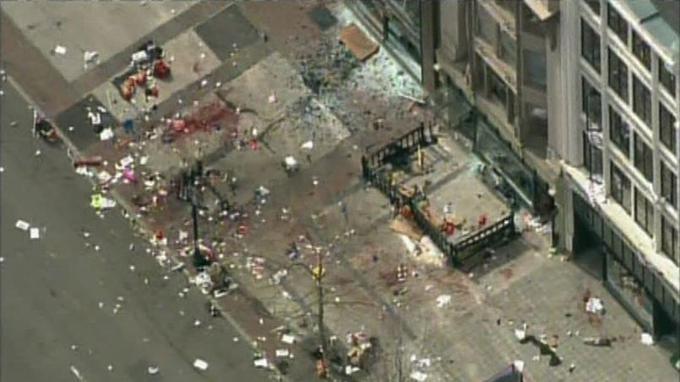 Capture d'écran d'images de la chaîne NBC.