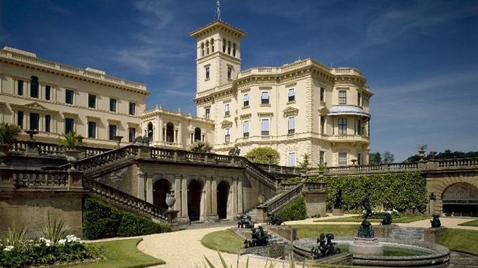 la villa d'été de la reine Victoria.