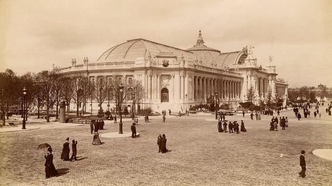Le Grand Palais, lors de l'Exposition universelle de 1900.